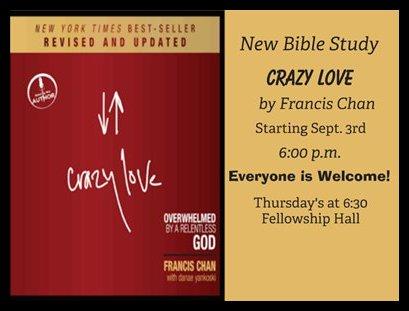Crazy Love Book – God is Love. Crazy, Relentless all ...